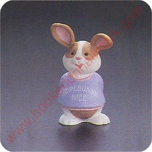 1992 Sweat Shirt Bunny - Merry Miniature