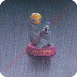 1992 Seal - Merry Miniature