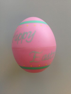 1986 Egg Happy Easter - Merry Miniature