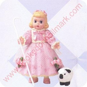 2000 Madame Alexander Mary Had a Little Lamb - Merry Miniature