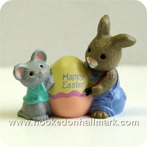 1990 Mouse & Bunny - Merry Miniature