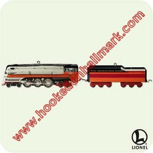2005 Lionel Steam Locomotive and Tender - Miniature