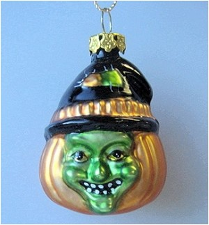 2002 Halloween, Blown Glass Witch