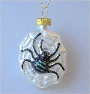 2002 Halloween, Blown Glass Spider