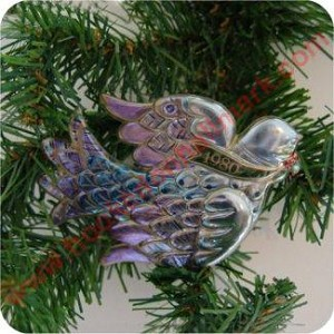 1980 Dove, Test Ornament - NB - shell only