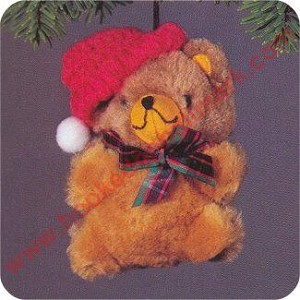 1981 Christmas Teddy - NB