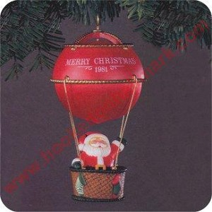 1981 Sailing Santa - No lid on box