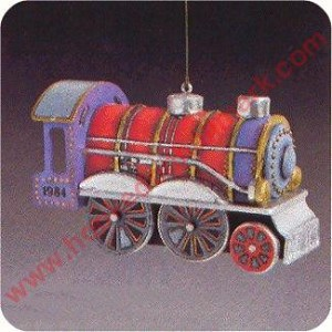 1984 Tin Locomotive #3