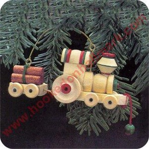 1985 Wood Childhood #2 - Wooden Train