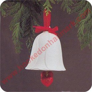 1985 First Christmas Together Bell