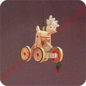 1986 Wood Childhood #3 - Reindeer