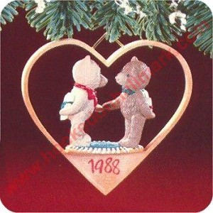 1988 First Christmas Together - Bears