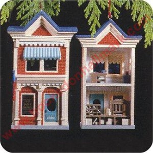 1989 Nostalgic House #6 - US Post Office - MIB