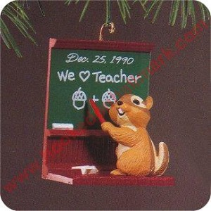 1990 Teacher - Chipmunk