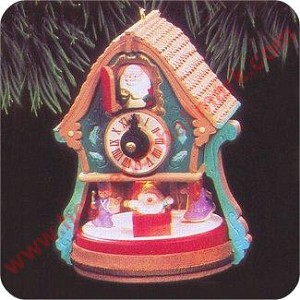 1992 Enchanted Clock - Magic