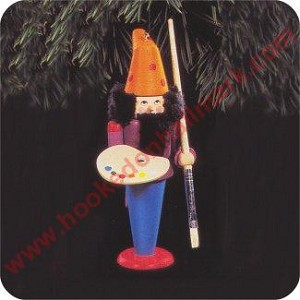 1992 North Pole Nutcrackers - Franz The Artist - NB