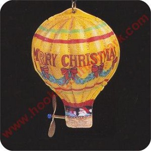1993 Tin Hot Air Balloon