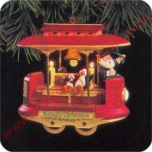 1994 Kringle Trolley, lighted