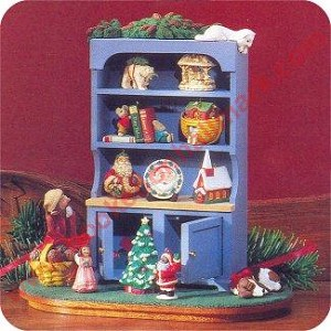 1994 Mrs Claus Cupboard, Event - includes 10 mini ornaments