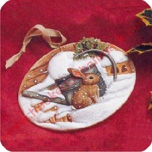 1996 Natures Sketchbook - Christmas Bunny
