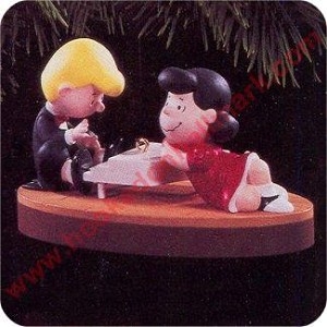 1996 Peanuts - Schroeder and Lucy - Musical!