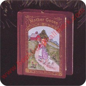 1996 Mother Goose #4 - Mary Had a Little Lamb