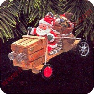 1997 Here Comes Santa #19 - The Claus Mobile