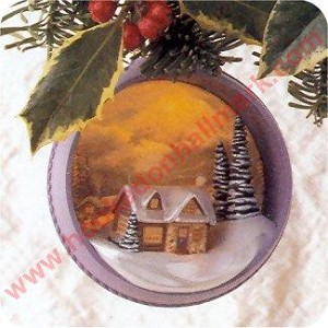 1997 Warmth of the Home, Thomas Kinkade - Lighted