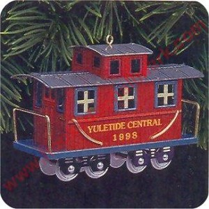 1998 Yuletide Central #5 - Caboose