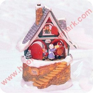 1998 Santas Merry Workshop, Musical Tabletop