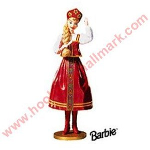 1999 Dolls of the World #4 - Russian Barbie