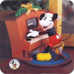 1999 Piano Player Mickey - Magic