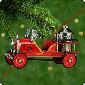 2000 Kiddie Car Classic #7 n- Toledo Fire Engine