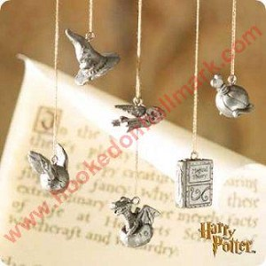 2000 Harry Potter, Hogwarts Charms - Set of 5 - Missing one - DB