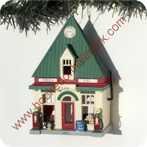 2001 Nostalgic Houses and Shops, RARE Colorway - One of only 54 Produced !