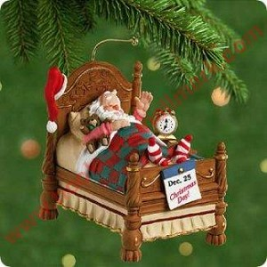 2001 Snoozing Santa, Magic