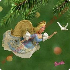 2001 Barbie Angel of Peace with Dove