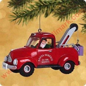 2002 Here Comes Santa #24 - North Pole Towing Service