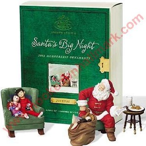 2002 Santa's Big Night, Club (4 pc set)