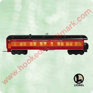2003 Lionel Train, Daylight Observation Car