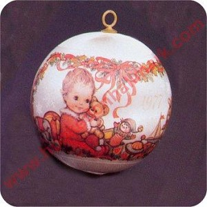1977 Baby's First Christmas - RARE! - NB