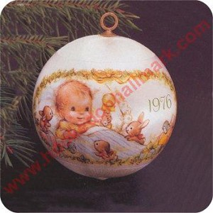 1976 Baby's First Christmas - Rare!