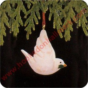 1990 Christmas Dove - MINIATURE