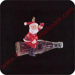 1993 Refreshing Flight Coca Cola - Miniature