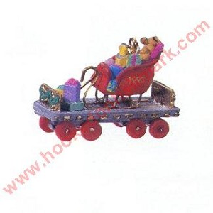 1993 Noel RR #5 - Miniature Flatbed Car