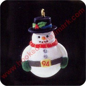 1994 Jolly Wolly Snowman - Miniature