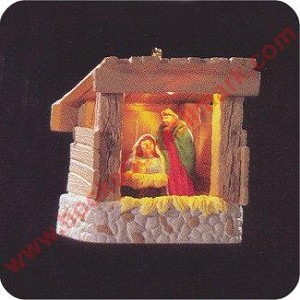 1995 Starlit Nativity - Miniature