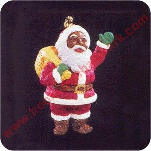 1995 Joyful Santa - Miniature