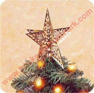 1995 Mini Shining Star Tree Topper