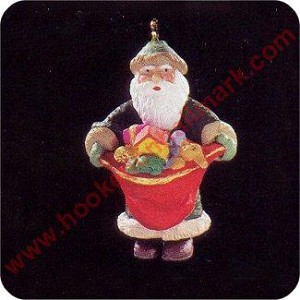1995 Centuries of Santa #2 - Miniature